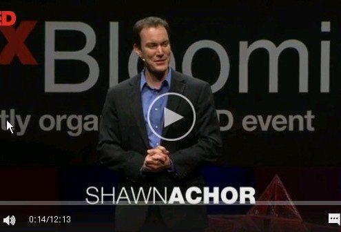 Ted talk Shaw Achor